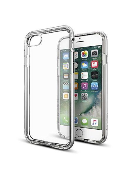 Чехол Spigen для iPhone 7 Neo Hybrid Crystal, Satin Silver