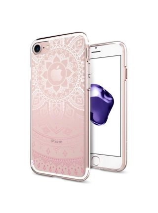 Чехол Spigen для iPhone 7 Liquid Crystal, Shine Pink