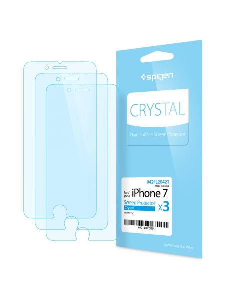 Защитная пленка для iPhone 7 Spigen Screen Protector Film Crystal