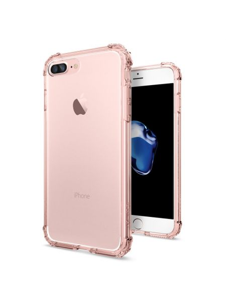 Чехол Spigen для iPhone 8 Plus / 7 Plus Crystal Shell, Rose Crystal