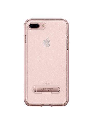 Чехол iPhone 7 Plus Crystal Hybrid Glitter, Rose Quartz