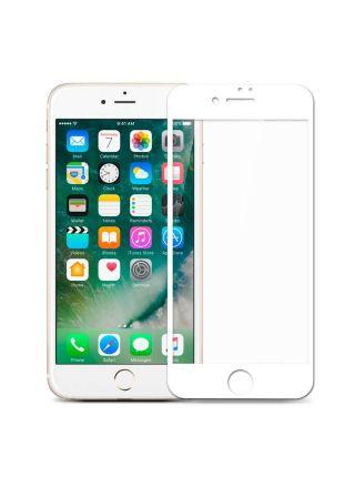 Защитное стекло для iPhone 7 Plus Full Cover, White
