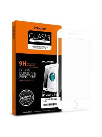 Защитное стекло для iPhone 7 Plus Full Cover, White, 043GL20469