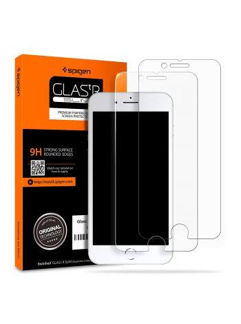 Защитное стекло Spigen для iPhone 8 Plus / 7 Plus, 2шт., 055GL22383