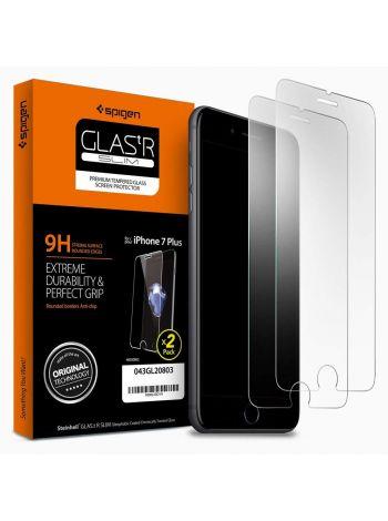 Защитное стекло Spigen для iPhone 7 Plus, 2шт., 043GL20803