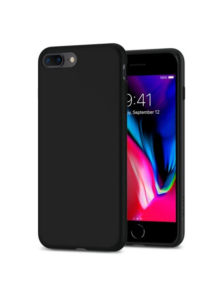 Чехол Spigen для iPhone 8 Plus / 7 Plus Liquid Crystal, Matte Black