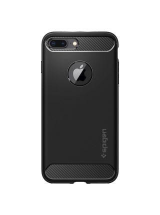Чехол Spigen для iPhone 8 Plus / 7 Plus Rugged Armor, Black