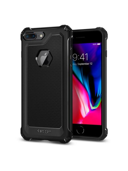 Чехол Spigen для iPhone 8 Plus / 7 Plus Rugged Armor Extra, Black