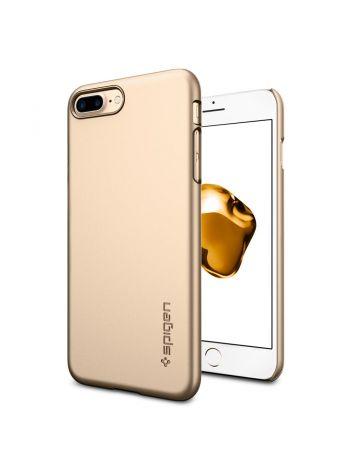 Чехол Spigen для iPhone 8 Plus / 7 Plus Thin Fit, Champagne Gold , 043CS20734