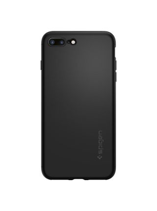 Чехол Spigen для iPhone 7 Plus Thin Fit 360, Black