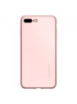 Чехол Spigen для iPhone 7 Plus Thin Fit 360, Rose Gold