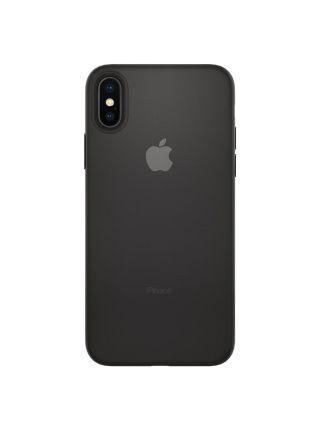 Чехол Spigen для iPhone X/XS Air Skin, Black