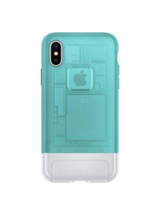 Чехол Spigen для iPhone X/XS Classic C1, Bondi Blue