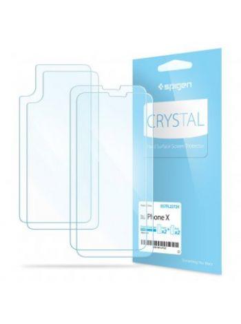 Защитная пленка Spigen для iPhone X/XS , 057FL22724