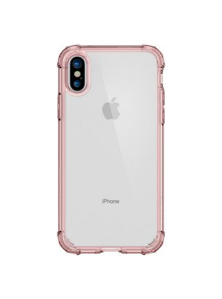 Чехол Spigen для iPhone X/XS Crystal Shell, Rose Crystal