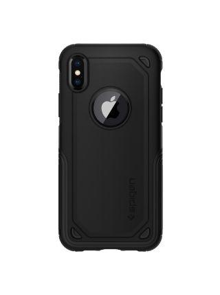Чехол Spigen для iPhone X/XS Hybrid Armor, Black