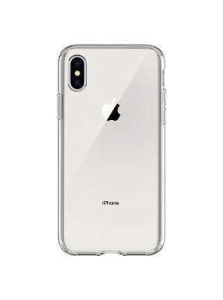 Чехол Spigen для iPhone X/XS Liquid Crystal, Crystal Clear