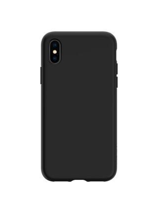 Чехол Spigen для iPhone X/XS Liquid Crystal, Matte Black