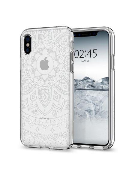 Чехол Spigen для iPhone X/XS Liquid Crystal, Shine