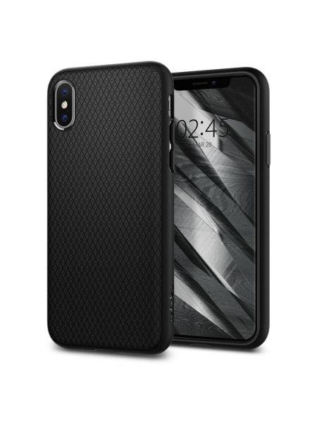 Чехол Spigen для iPhone X/XS Liquid Air, Black