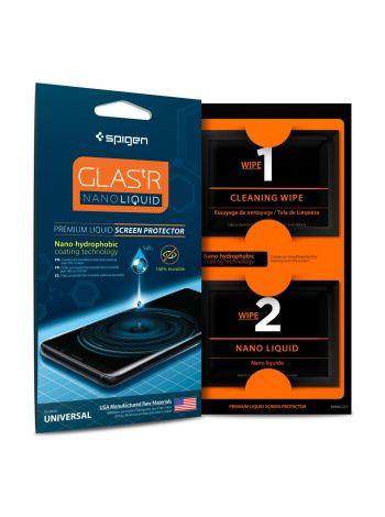 Жидкое защитное стекло Spigen для iPhone X/XS GLAS.tR Nano Liquid (000GL21813) , 000GL21813