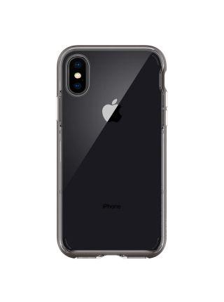 Чехол Spigen для iPhone X/XS Neo Hybrid Crystal, Gunmetal