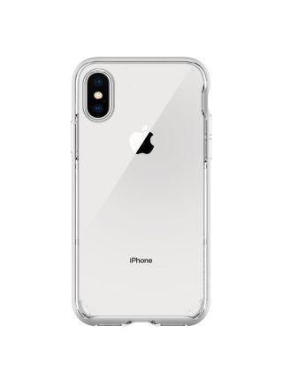 Чехол Spigen для iPhone X/XS Neo Hybrid Crystal, Satin Silver