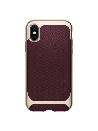 Чехол Spigen для iPhone X Neo Hybrid, Burgundy