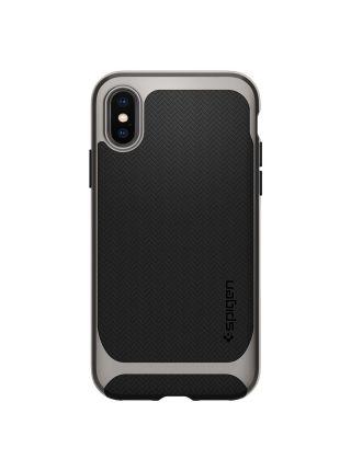Чехол Spigen для iPhone X Neo Hybrid, Gunmetal