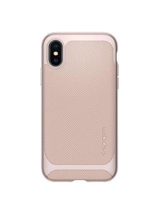 Чехол Spigen для iPhone X Neo Hybrid, Pale Dogwood