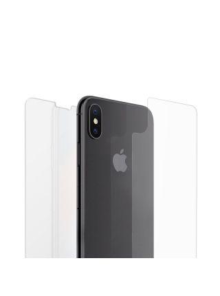 Защитное стекло + защитная пленка Spigen для iPhone X/XS SLIM HD