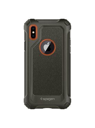 Чехол Spigen для iPhone X/XS Pro Guard, Army Green