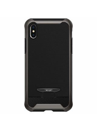 Чехол Spigen для iPhone X/XS Reventon, Gunmetal