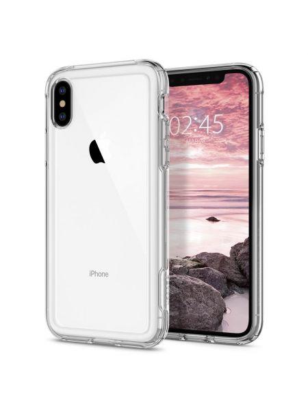 Чехол Spigen для iPhone X/XS Slim Armor Crystal, Crystal Clear