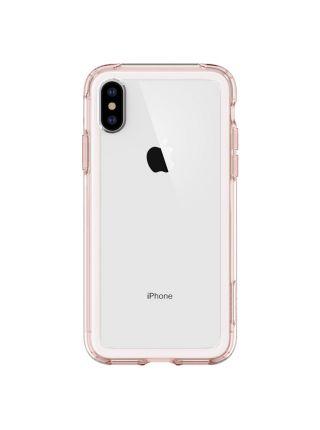 Чехол Spigen для iPhone X/XS Slim Armor Crystal, Rose Crystal
