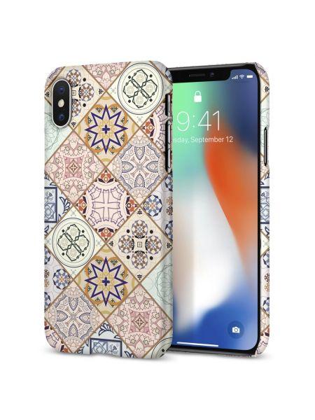 Чехол Spigen для iPhone X/XS Thin Fit, Arabesque
