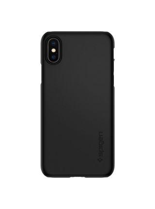Чехол Spigen для iPhone X/XS Thin Fit, Matte Black
