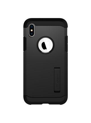 Чехол Spigen для iPhone X/XS Tough Armor, Matte Black