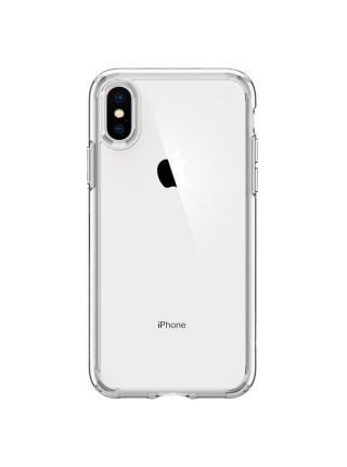 Чехол Spigen для iPhone X/XS Ultra Hybrid, Crystal Clear