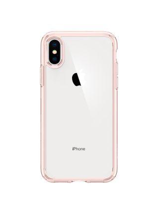 Чехол Spigen для iPhone X/XS Ultra Hybrid, Rose Crystal
