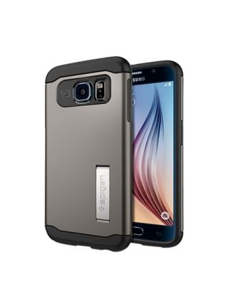Чехол SGP Slim Armor для Galaxy S6, Gunmetal