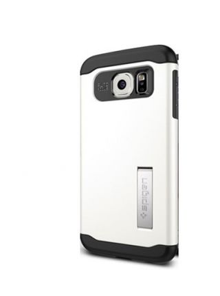 Чехол SGP Slim Armor для Galaxy S6, Shimmery White