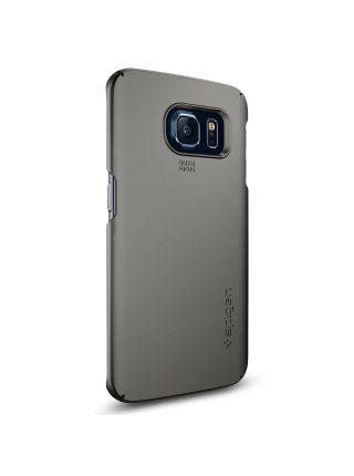 Чехол Spigen Thin Fit для Galaxy S6 Edge, Gunmetal