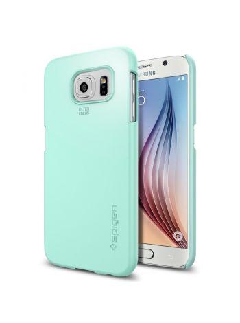 Чехол Spigen Thin Fit для Galaxy S6, Mint, SGP11310
