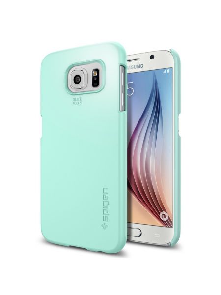 Чехол Spigen Thin Fit для Galaxy S6, Mint