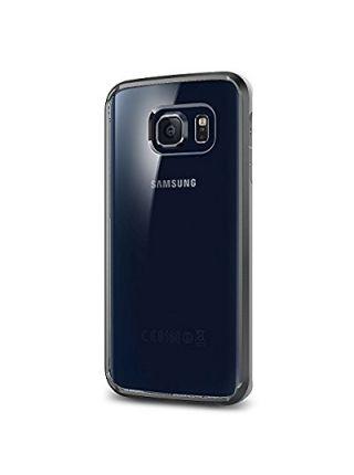 Чехол Spigen Ultra Hybrid для Galaxy S6 Edge, Gunmetal