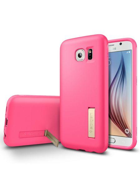 Чехол Spigen Capsule Solid для Samsung Galaxy S6, Azalea Pink