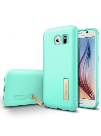 Чехол Spigen Capsule Solid для Samsung Galaxy S6, Mint, SGP11438