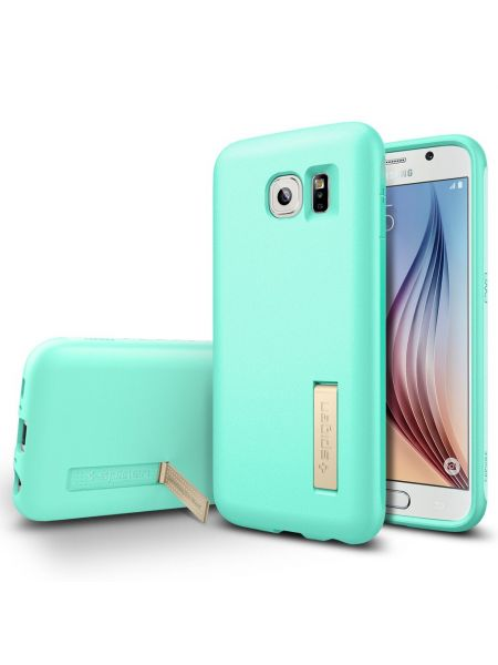 Чехол Spigen Capsule Solid для Samsung Galaxy S6, Mint
