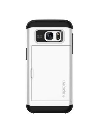 Чехол Galaxy S7 Edge Slim Armor CS, Shimmery White